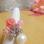 余合ナオミピンクのリング