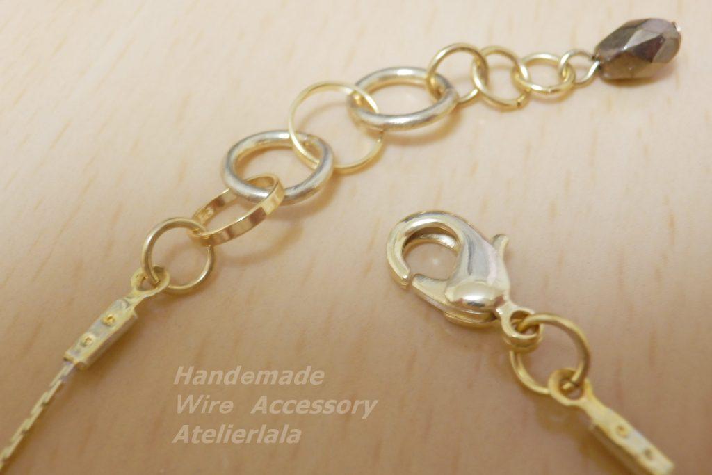 ネックレスの金具カニカン