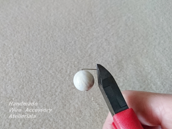 大振りイヤリングの作り方